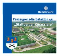 Informationsbroschüre Panzergrenadierbataillon 411 - Stallberger Kürassiere