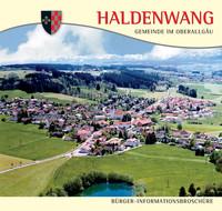 Bürger-Informationsbroschüre der Gemeinde Haldenwang