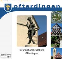 Bürger-Informationsbroschüre der Gemeinde Ofterdingen