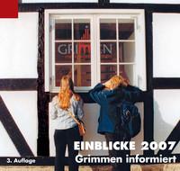 Bürger-Informationsbroschüre Grimmen informiert - Einblicke 2007