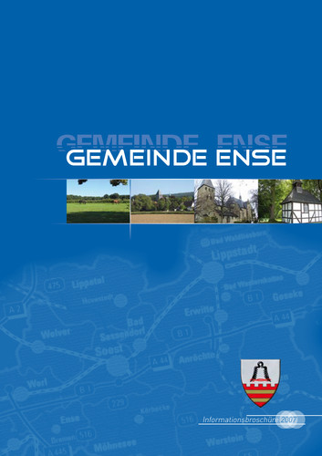 Bürger-Informationsbroschüre der Gemeinde Ense