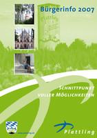 Bürger-Informationsbroschüre der Stadt Plattling