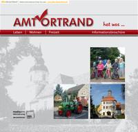 Bürger-Informationsbroschüre des Amtes Ortrand