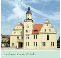 Hochzeitsbroschüre der Verwaltungsgemeinschaft Coswig