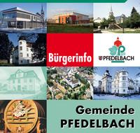 Bürger-Informationsbroschüre Pfedelbach
