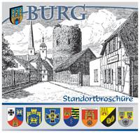 Bundeswehr-Standortbroschüre Burg