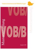 Kreishandwerkerschaft Mittelthüringen - Mustersammlung VOB/b