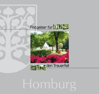 Ratgeber für den Trauerfall der Stadt Homburg