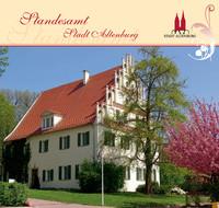 Hochzeitsbroschüre der Stadt Altenburg