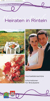 Informationsbroschüre - Heiraten in Rinteln