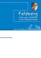 Informationsbroschüre der Stadt Felsberg