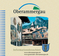 Informationsbroschüre der Gemeinde Oberammergau