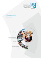 Informationsbroschüre der Hochschule Furtwangen, Fakultät Wirtschaft