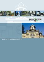 Bestattungsbroschüre der Stadt Geislingen