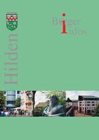 Informationsbroschüre der Stadt Hilden