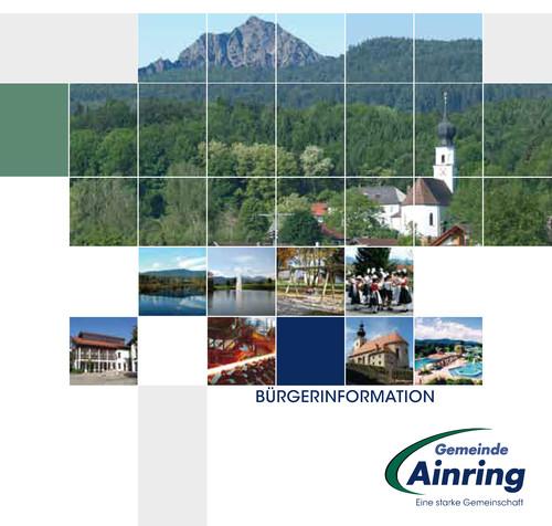 Die Informationsbroschüre der Gemeinde Ainring
