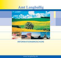 Die Bürgerinformationsbroschüre der Stadt Langballig