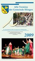 Jahreskalender der Gemeinde Illingen 2009