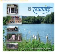 Die Informationsbroschüre der Stadt Teublitz