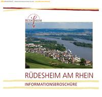 Die Informationsbroschüre der Stadt Rüdesheim