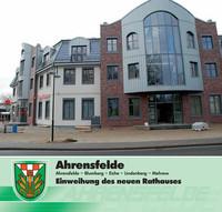 Einweihung des neuen Rathauses Ahrensfelde