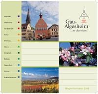 Die Bürgerinformationsbroschüre der Stadt Gau-Algesheim