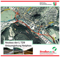 Neubau der L 729 - Ortsumgehung Netphen
