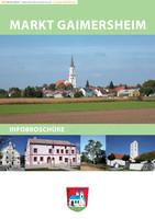 Die Bürgerinformationsbroschüre Gaimersheim