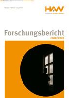 Forschungsbericht der Hochschule Amberg-Weiden