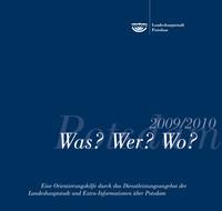 Was?Wer?Wo 2009/2010 Die Bürgerinformationsbroschüre