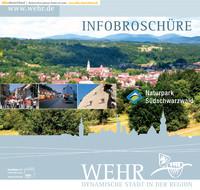 Bürgerinformationsbroschüre der Stadt Wehr
