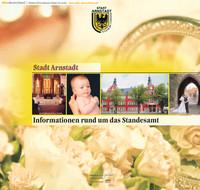 Informationen rund um das Standesamt Arnstadt