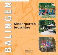 Die offizielle Kindergartenbroschüre Balingen