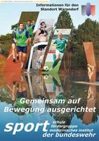 Bundeswehrbroschüre für den Standort Warendorf