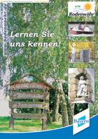 Bürgerinformationsbroschüre der Stadt Bodenwöhr