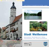 Bürgerinformationsbroschüre der Stadt Weißense