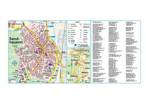 Straßenverzeichnis Sandhausen