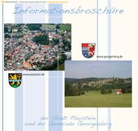 Informationsbroschüre Ihrer Stadt Pleystein