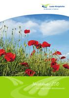 Jahreskalender mit integriertem Abfallkalender 2010