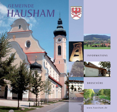 Die Bürgerinformationsbroschüre der Gemeinde Hausham