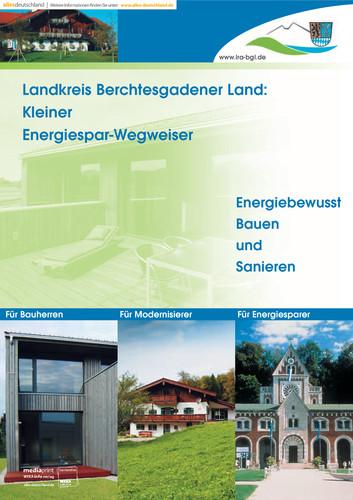 Kleiner Energiespar-Wegweiser Landkreis Berchtesgadener Land