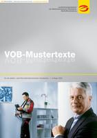 VOB Mustertexte für die elektro- und informationstechnischen Handwerke