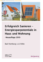 Erfolgreich Sanieren - Energiesparpotentiale in Haus und Wohnung