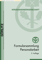Formularsammlung Personalarbeit Görlitz