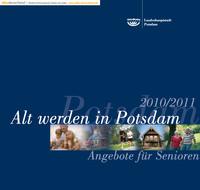 Alt werden in Potsdam - Angebote für Senioren