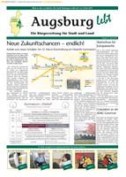 Die Bürgerzeitung für Stadt und Land Augsburg 04/2010