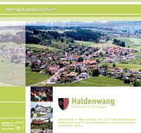 Bürger-Informationsbroschüre der Gemeinde Haldenwan