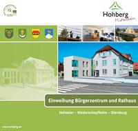 Einweihung Bürgerzentrum und Rathaus