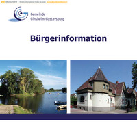 Bürger-Informationsbroschüre Ginsheim-Gustavsburg