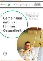 Patienteninformationsbroschüre für das Kreiskrankenhaus Sigmaringen - Ausgabe Sigmaringen
